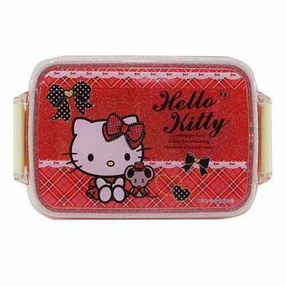 hello kitty sanrio japanese bento lunch box food container 450ml made in japan ebay. Black Bedroom Furniture Sets. Home Design Ideas
