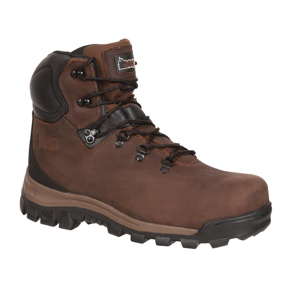 rocky boots 6421 work safety steel toe astm