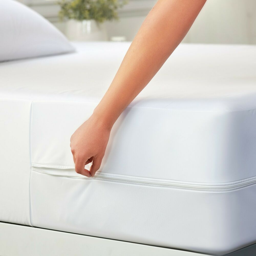 Hotel Quality Zippered Mattress Protector 100 Bed Bug