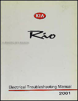 2001 Kia Rio Electrical Troubleshooting Manual Wiring