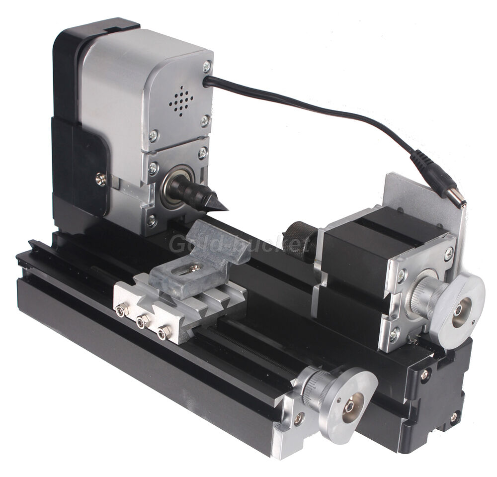 Metal Mini Wood Turning Machine Woodworking DIY Power Tool Modelmaking Gift  eBay