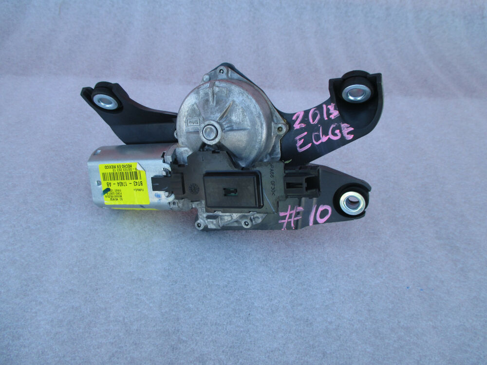 2013 Ford Edge Liftgate Wiper Motor Oem 2011 2012 2013