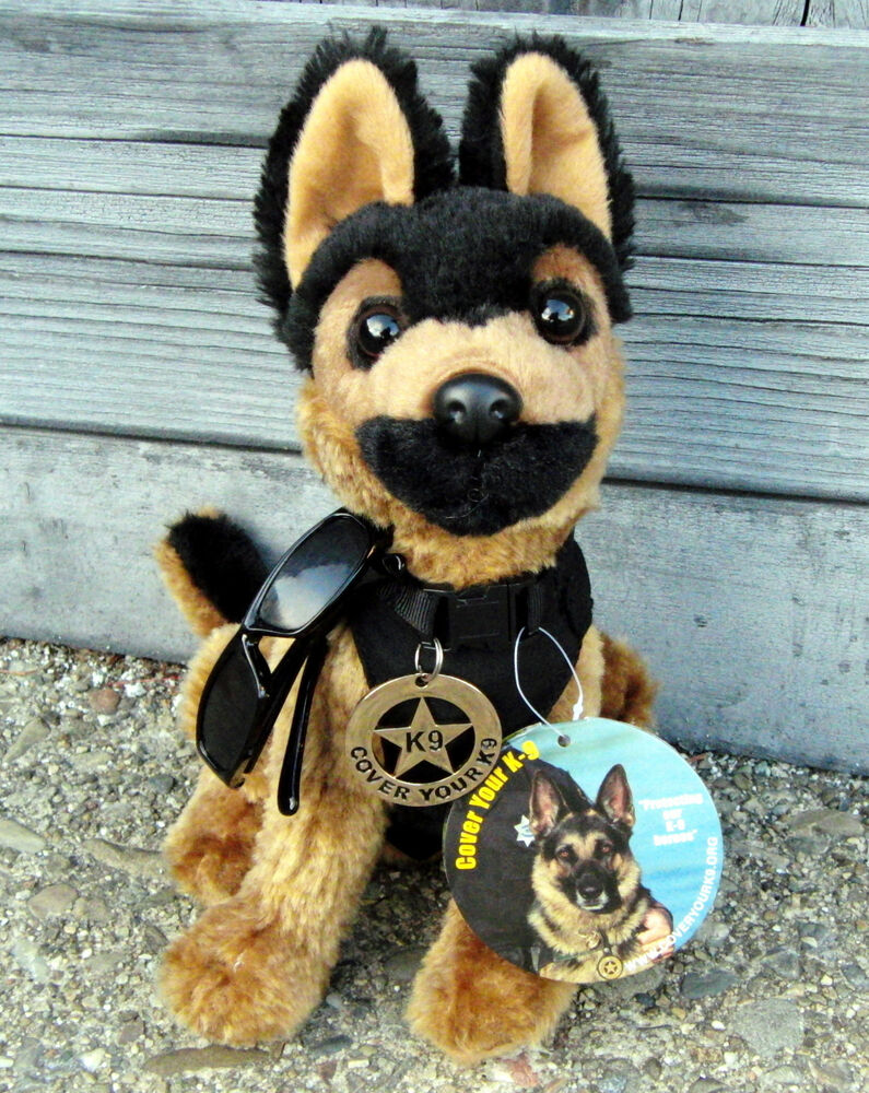 Police Dog Stuffed Toy