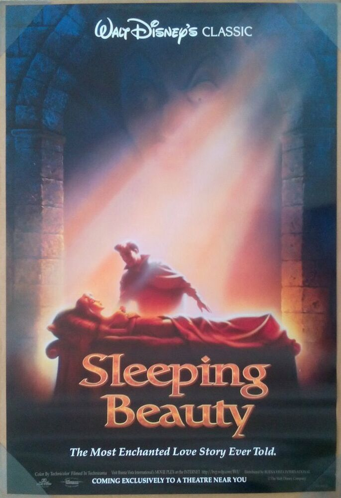 SLEEPING BEAUTY MOVIE POSTER 1 Sided ORIGINAL RARE ROLLED ...