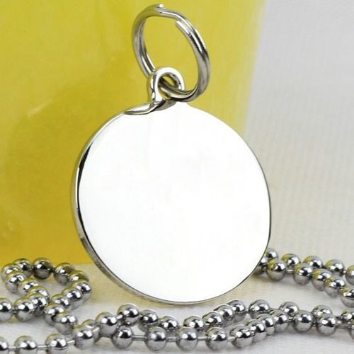 Custom Personalized Engraved Stainless Steel Dog Cat Tag