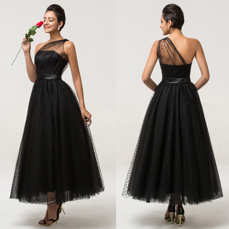 Vintage Style 1950s Maxi Evening Prom Party Masquerade