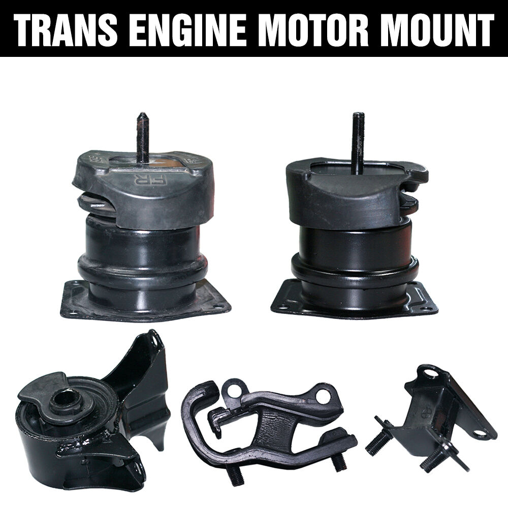 Engine motor trans mount 5pcs for honda accord 3 0l v6 for A and l motors