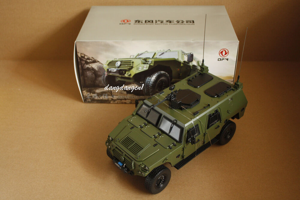 1 18 Dongfeng Motor New Military Armored Warriors Suv Die