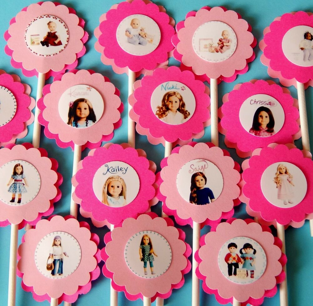 ... Cupcake Toppers Birthday Party Favors, Baby Shower decoration | eBay