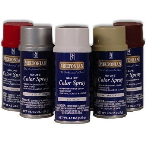 meltonian nu life color spray leather plastic vinyl paint dye 4 5 oz. Black Bedroom Furniture Sets. Home Design Ideas