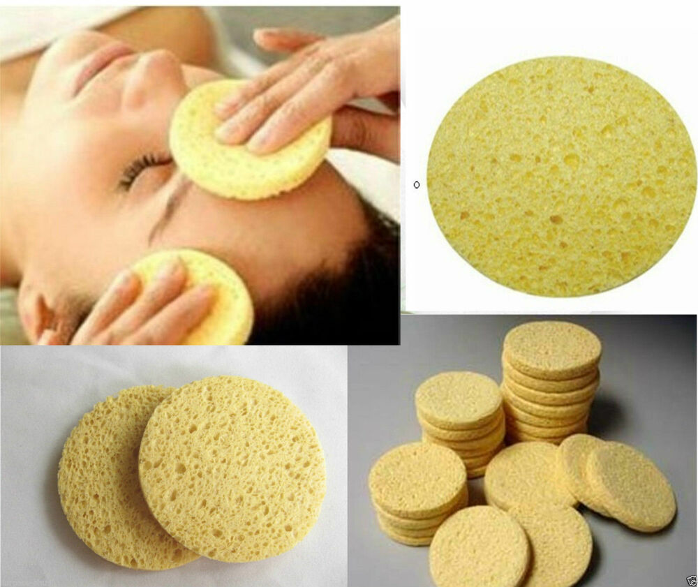 Cellulose sponge for face
