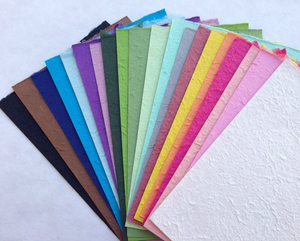 20 FULL SHEETS of handmade SAA MULBERRY PAPER - Crafts ...