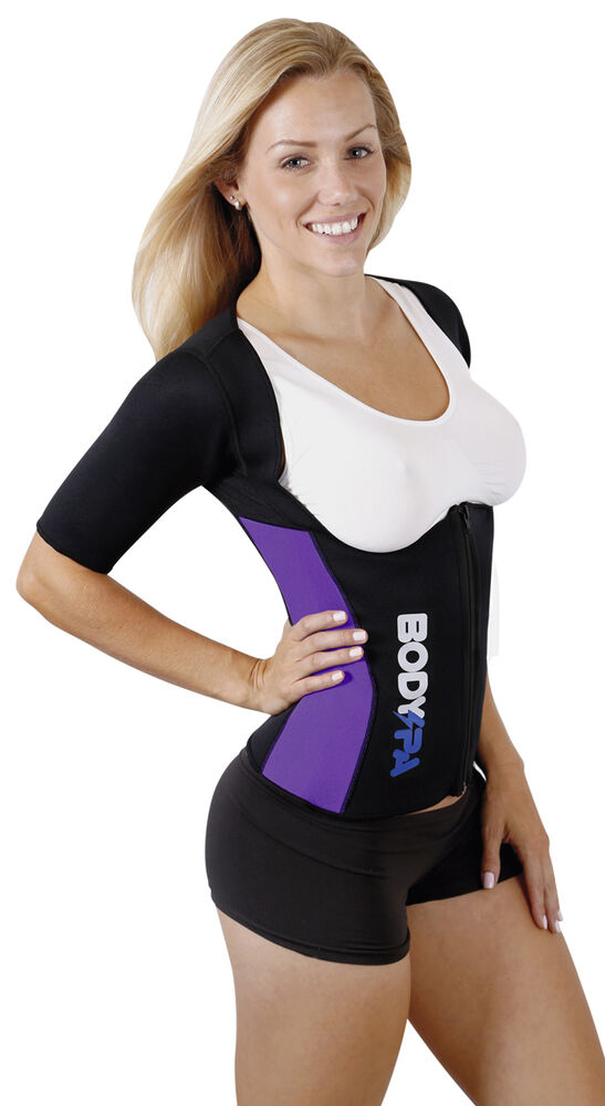 BODY SPA sauna Vest with Sleeves lose weight Weight Loss