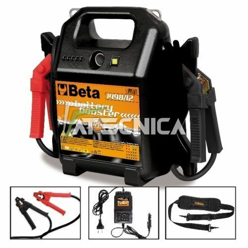 Avviatore caricabatterie booster 12v beta 1498 12 for Caricabatterie auto moto lidl