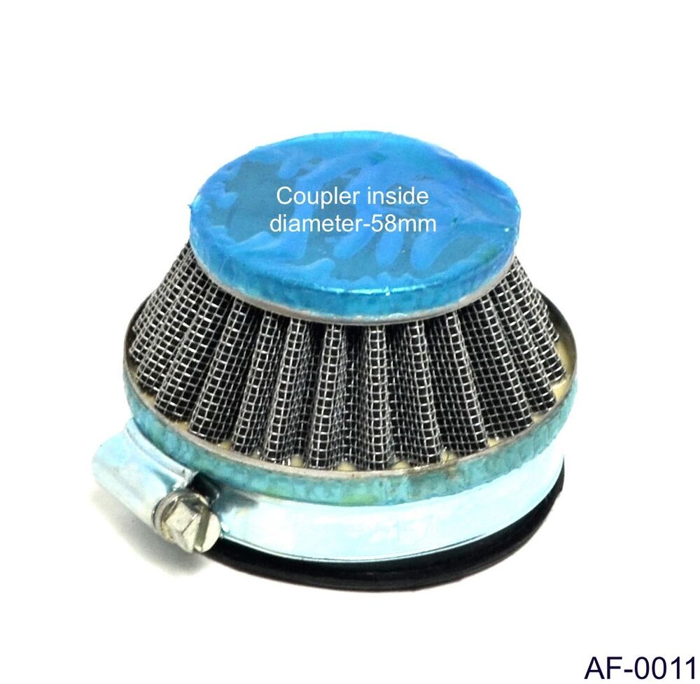 Dirt Modified Air Cleaner : Mm air filter for cc motorized bicycle pocket