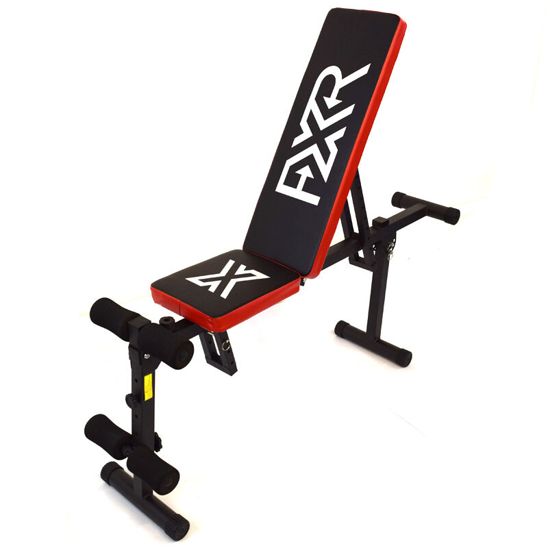Fxr Sports Dumbbell Weight Bench Flat Incline Decline