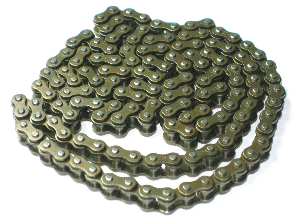 Mini Bike Chain Roller : H roller chain and master link for cc pocket bikes go