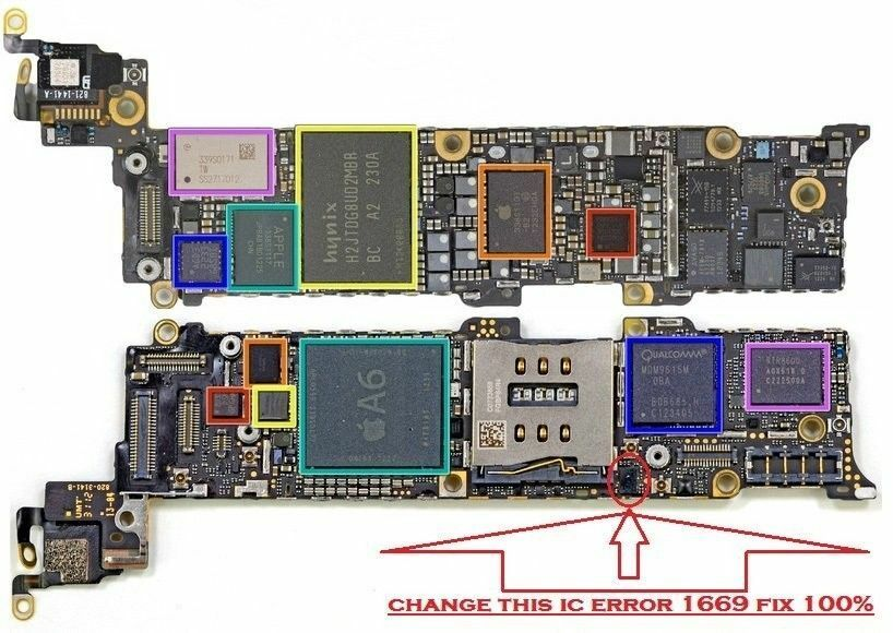 Iphone 5 Chip De
