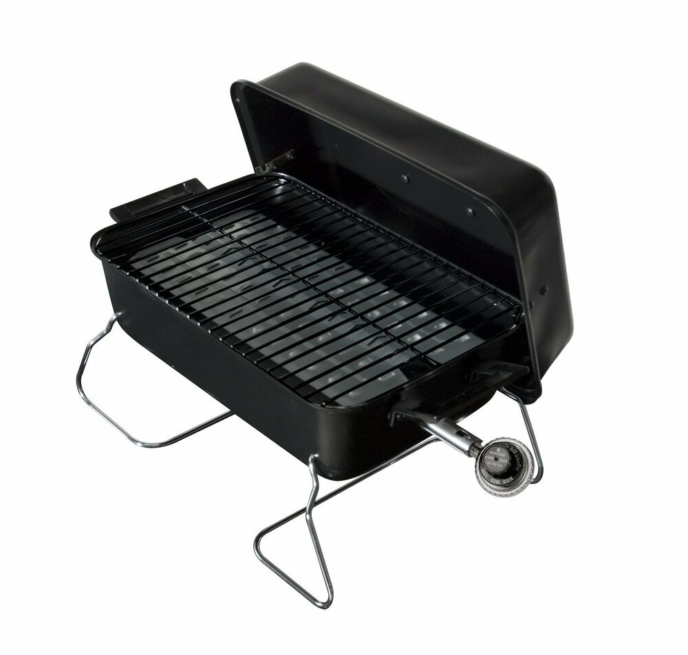 Portable Gas Grills : Tabletop gas grill portable propane barbeque tailgating