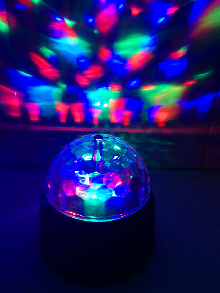Led Battery Powered Sensory Crystal Multi Colour Mood
