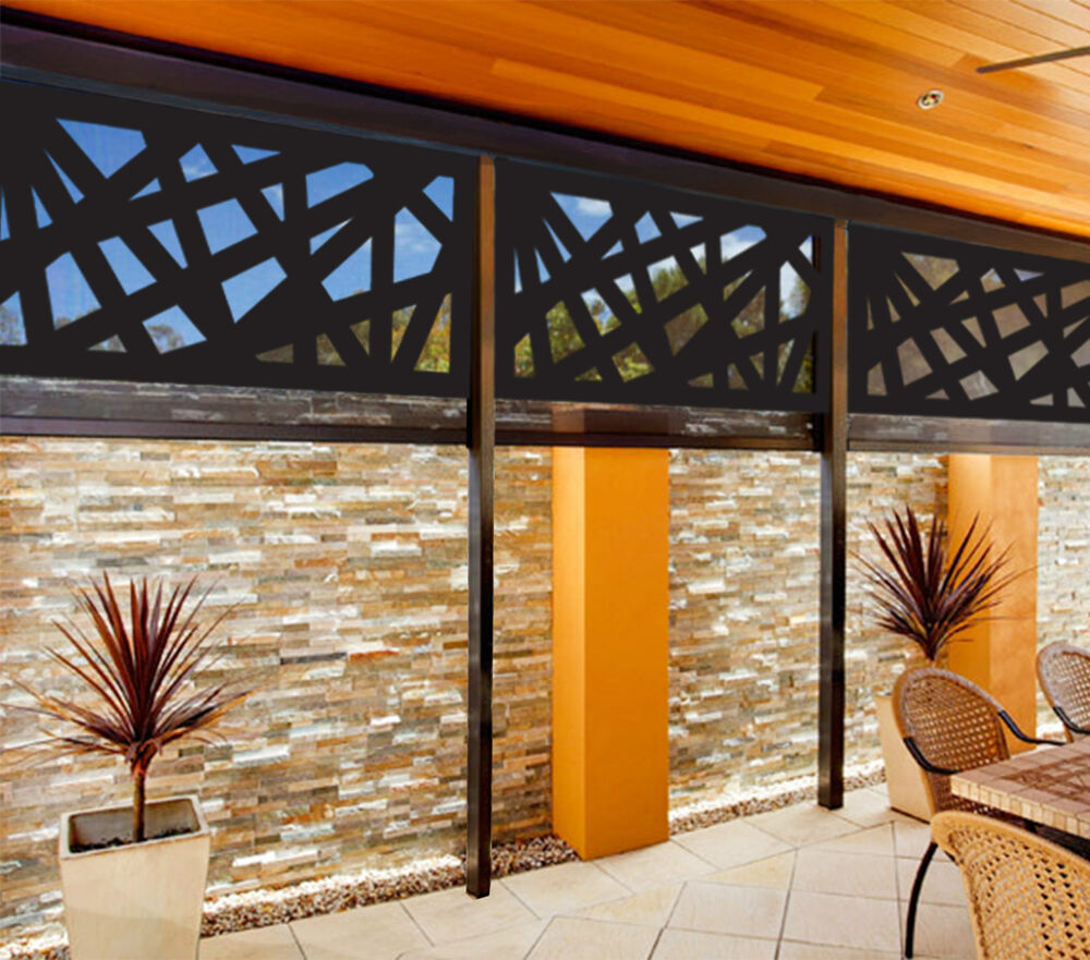 Designed and cut in australia indoor outdoor decorative for Decorative outdoor privacy walls