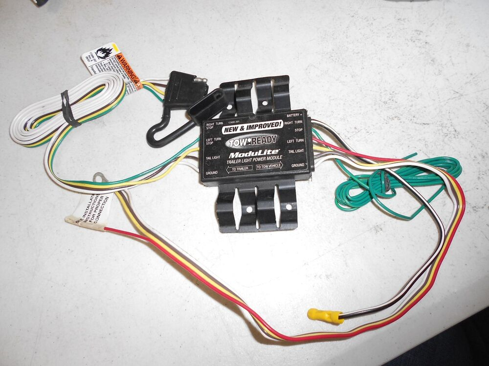 tow ready modulite trailer light power module 17499 201 7 pin trailer connector