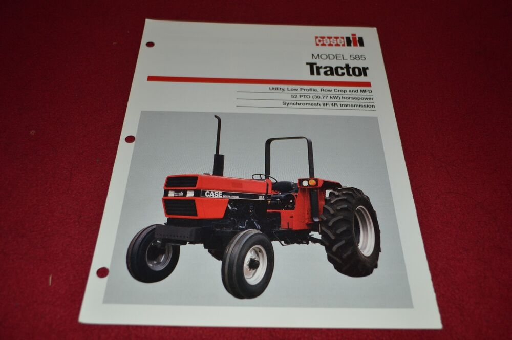 Case Tractor Showroom : Case international tractor dealer s brochure yabe ebay