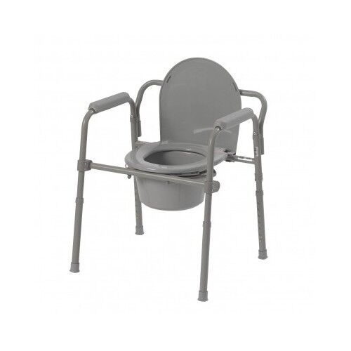 Portable Potty Chair For Elderly Medical Toilet Chair Portable Folding  Bedside Commode .