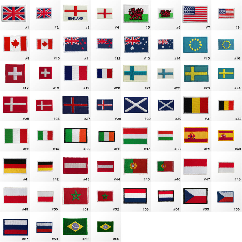 Uk Home Nation Flags