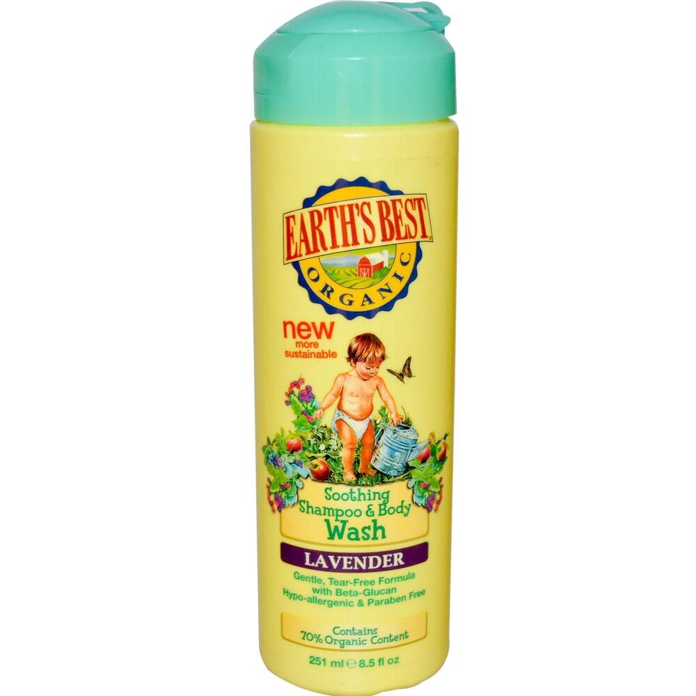 Best Natural Baby Shampoo And Body Wash