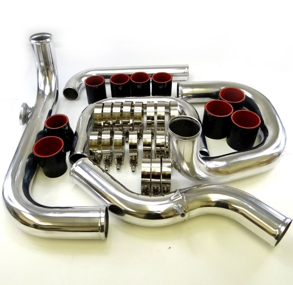 Civic Integra Del Sol Bolt On Turbo Front Mount Piping Kit