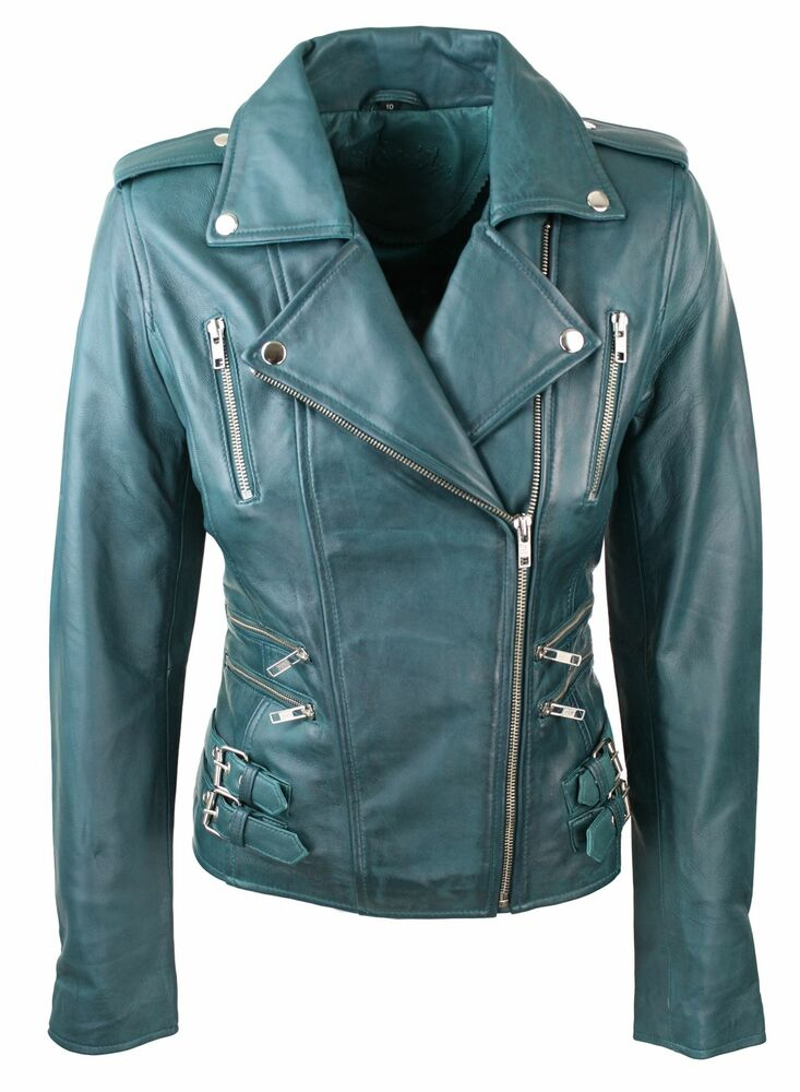 Soft leather jackets for women