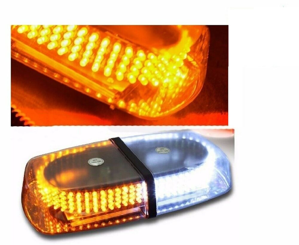 240 led amber white safety warning flashing strobe light. Black Bedroom Furniture Sets. Home Design Ideas