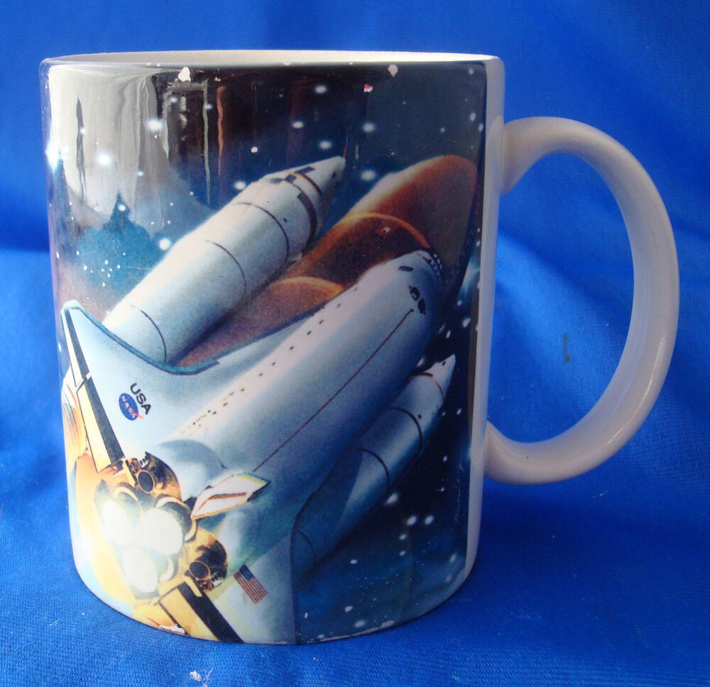 coffee mug cup space shuttle Smithsonian souvenir National ...