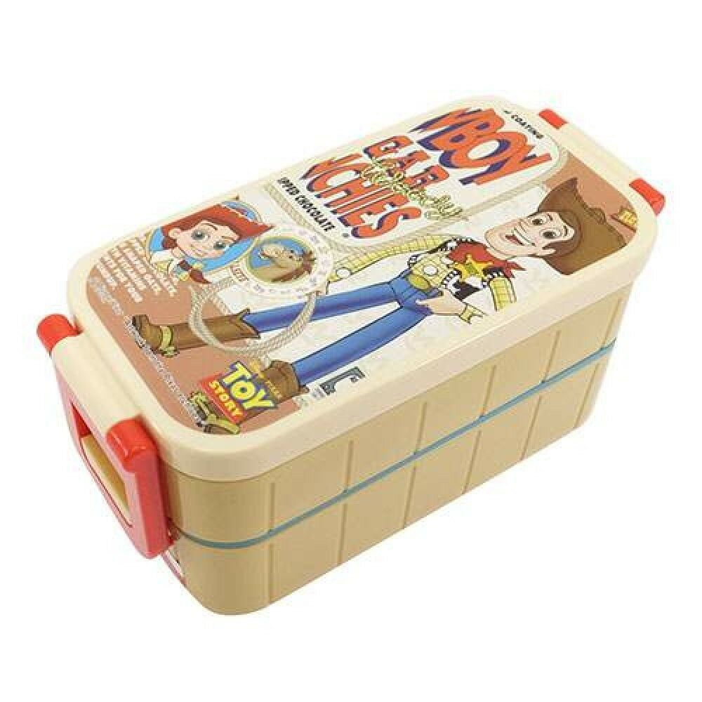 disney pixar toy story bento lunch box food container ivory polypropylene japan ebay. Black Bedroom Furniture Sets. Home Design Ideas