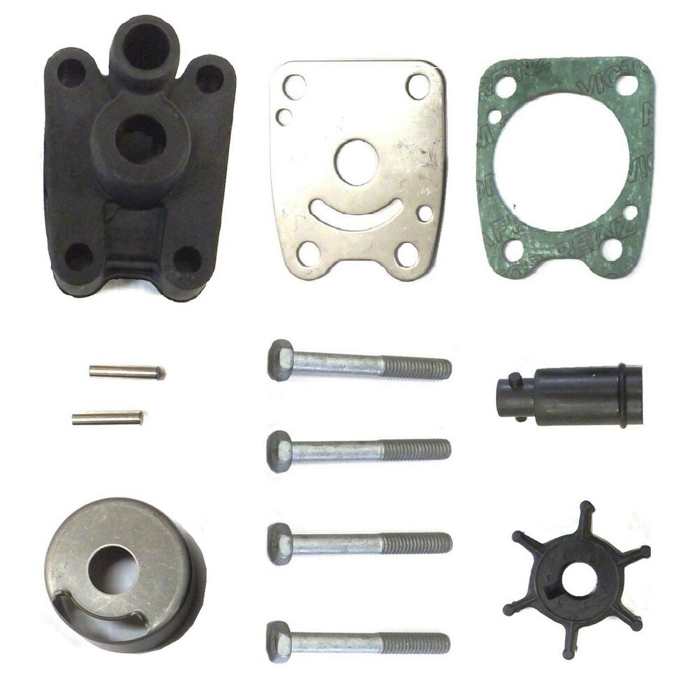 Yamaha f4a 4 stroke outboard water pump repair kit 68d for Yamaha water pump