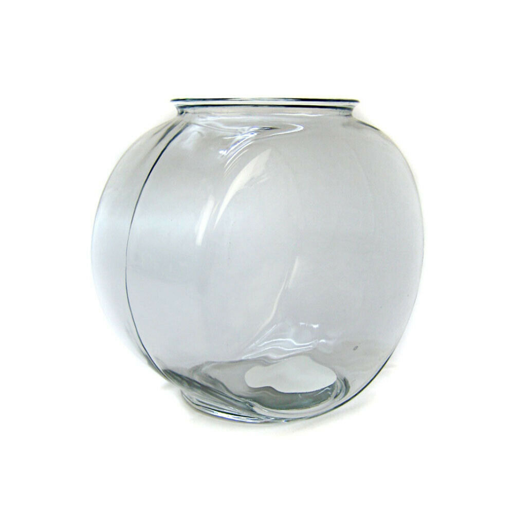 Anchor hocking 2 gallon drum style glass goldfish bowl for 2 gallon fish bowl