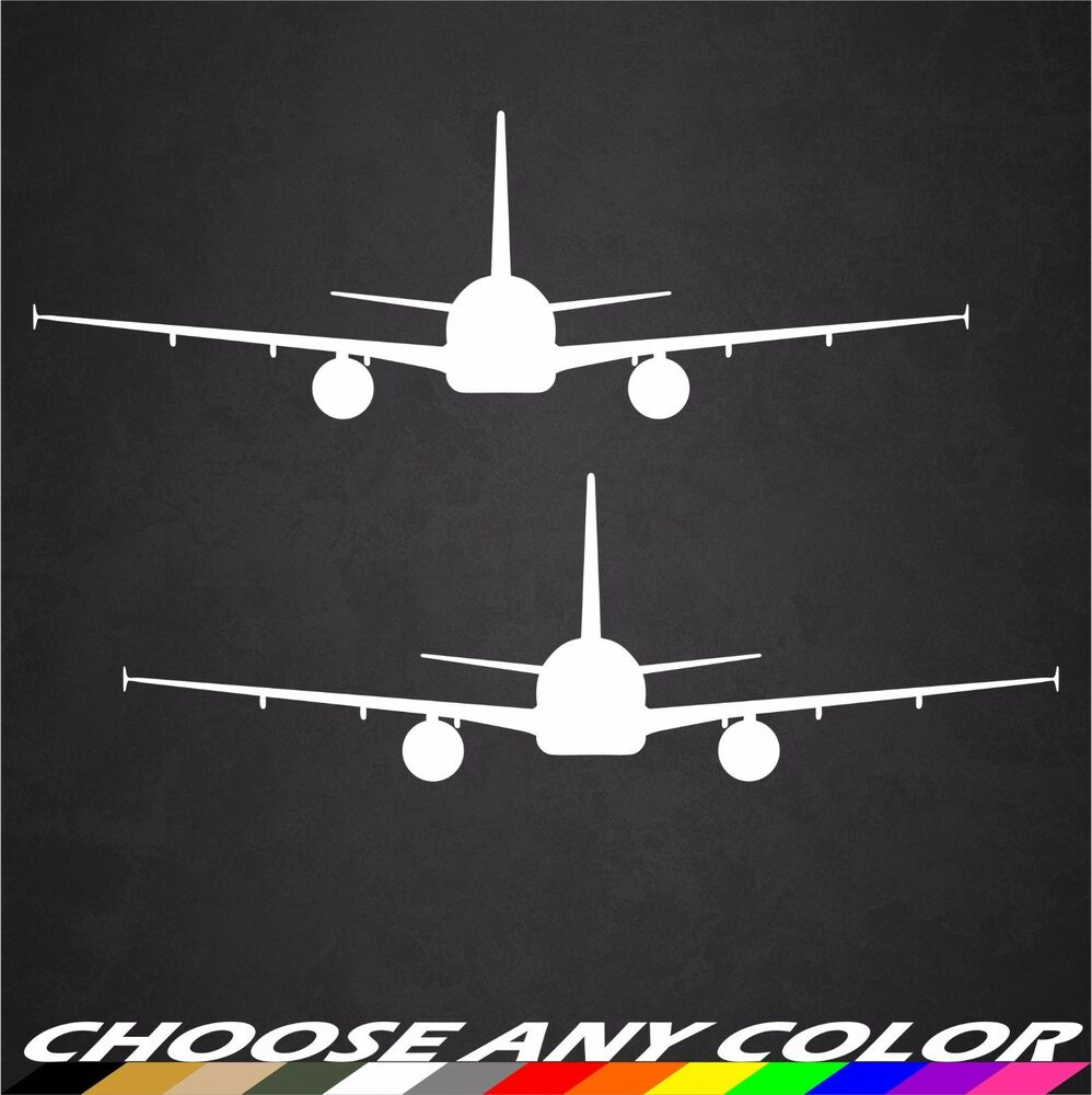 2 6 Quot X2 Quot Airbus A320 Aircraft Decals Stickers Graphics