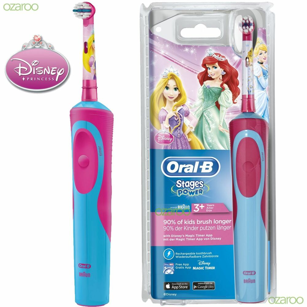 Oral B Stages Power Vitality Princess Electric
