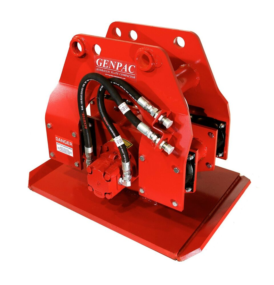 Hydraulic Plate Compactor Driver 19 Quot X 24 Quot For 4 000