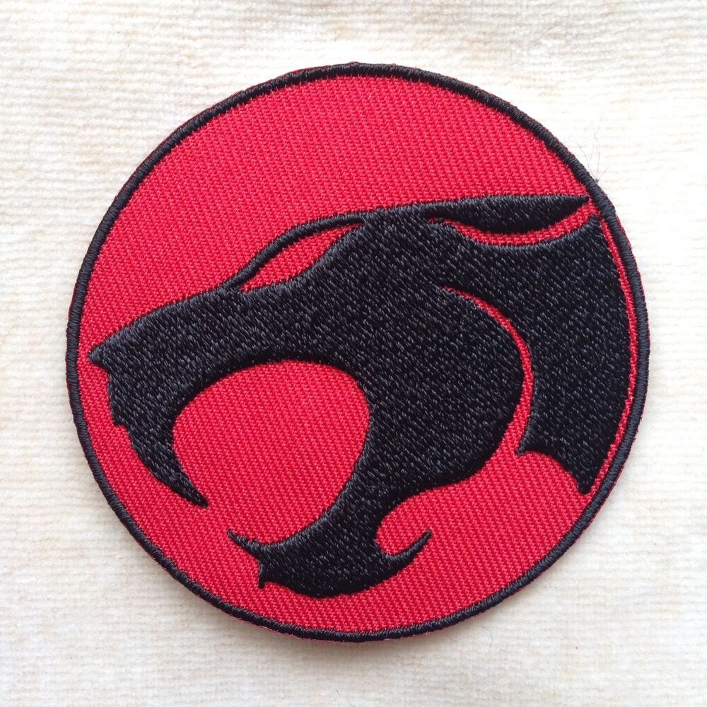 Thunder cats embroidery iron on patch badge ebay