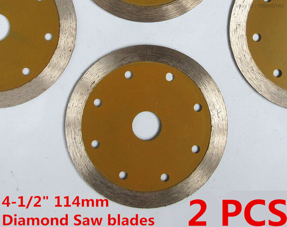 4 1 2 Quot Inch Wet Dry Diamond Saw Blade Stone Granite