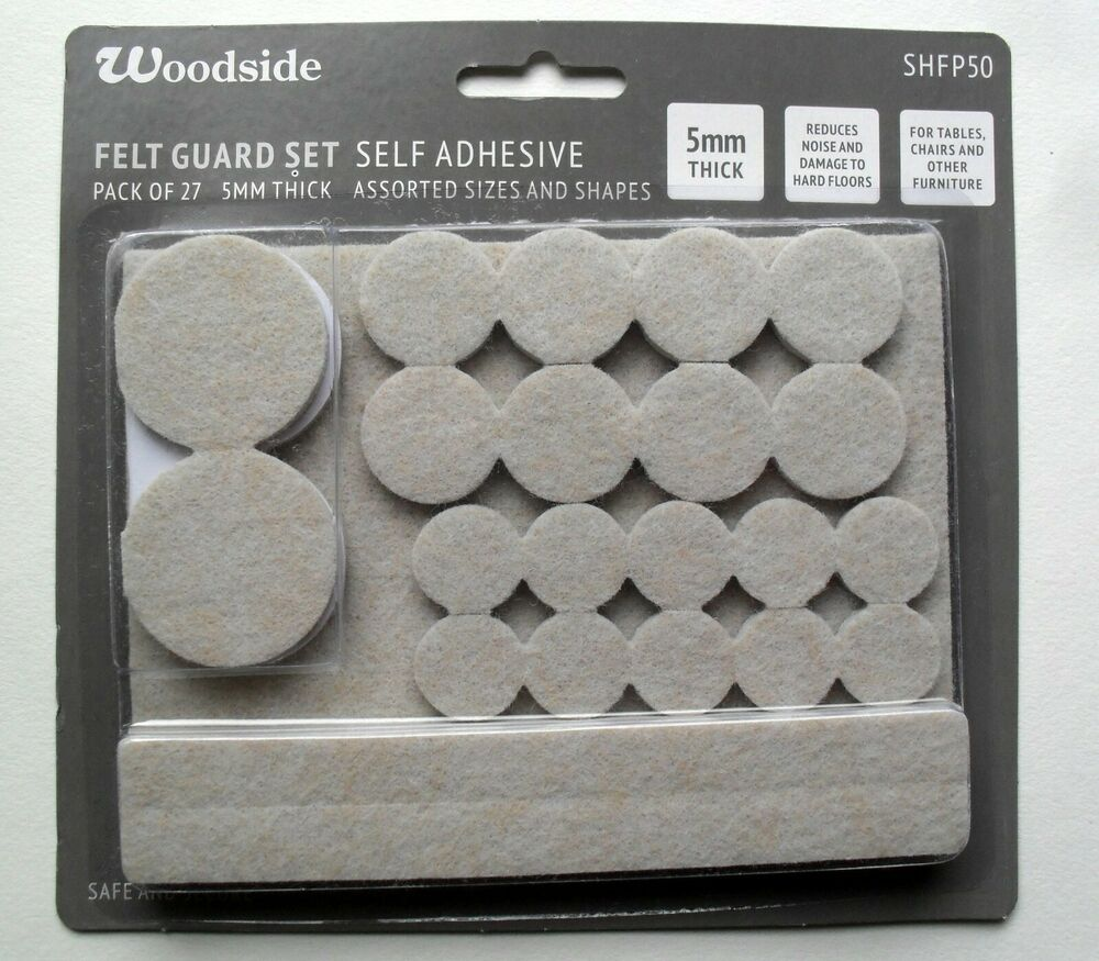 Felt Pads Furniture Leg Self Adhesive 5mm Floor Protectors