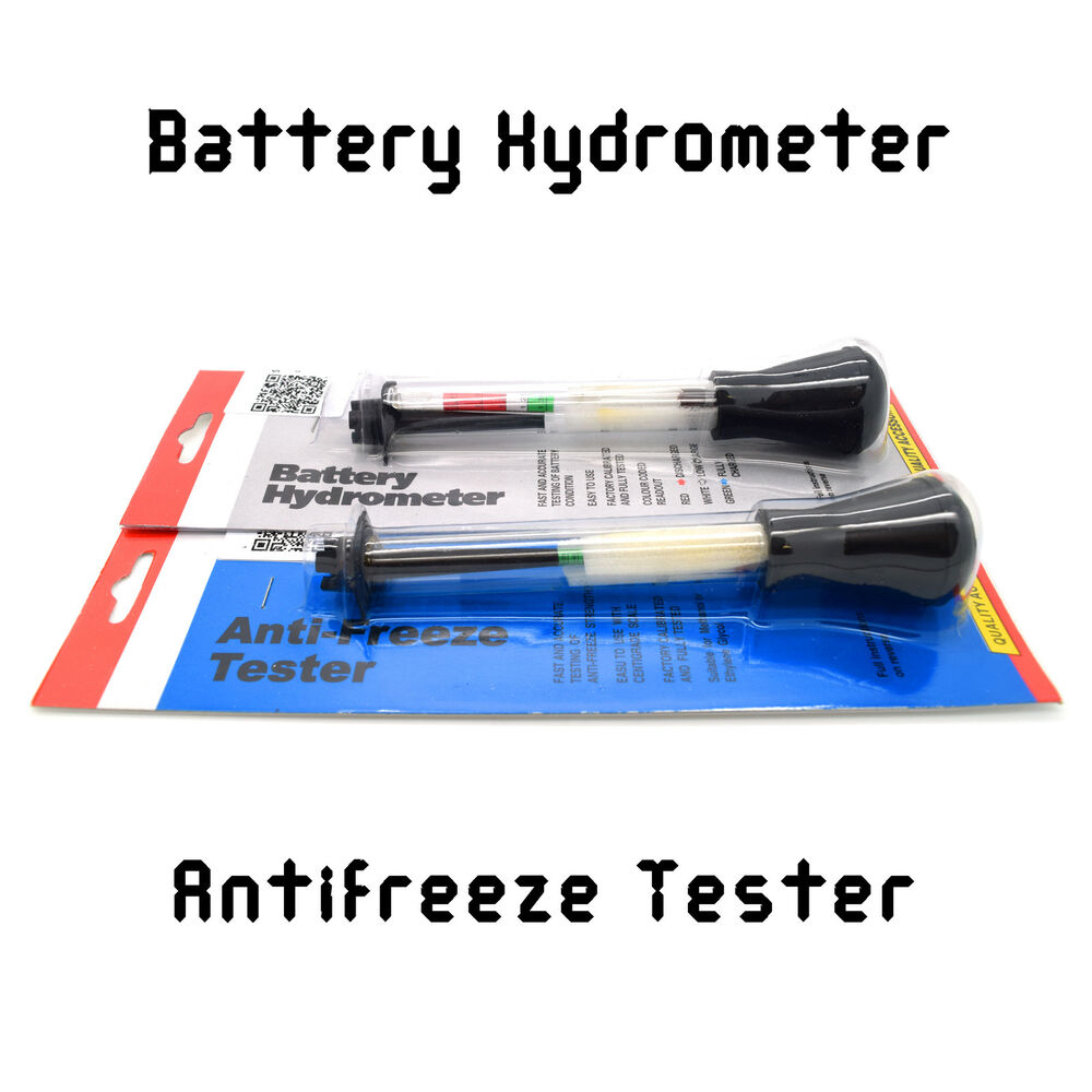 Battery Test Tools : Battery hydrometer anti freeze tester diagnostic tools