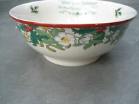 Spode Christmas Tree 2008 Annual Collection Candy Holiday Serving Bowl Dish New