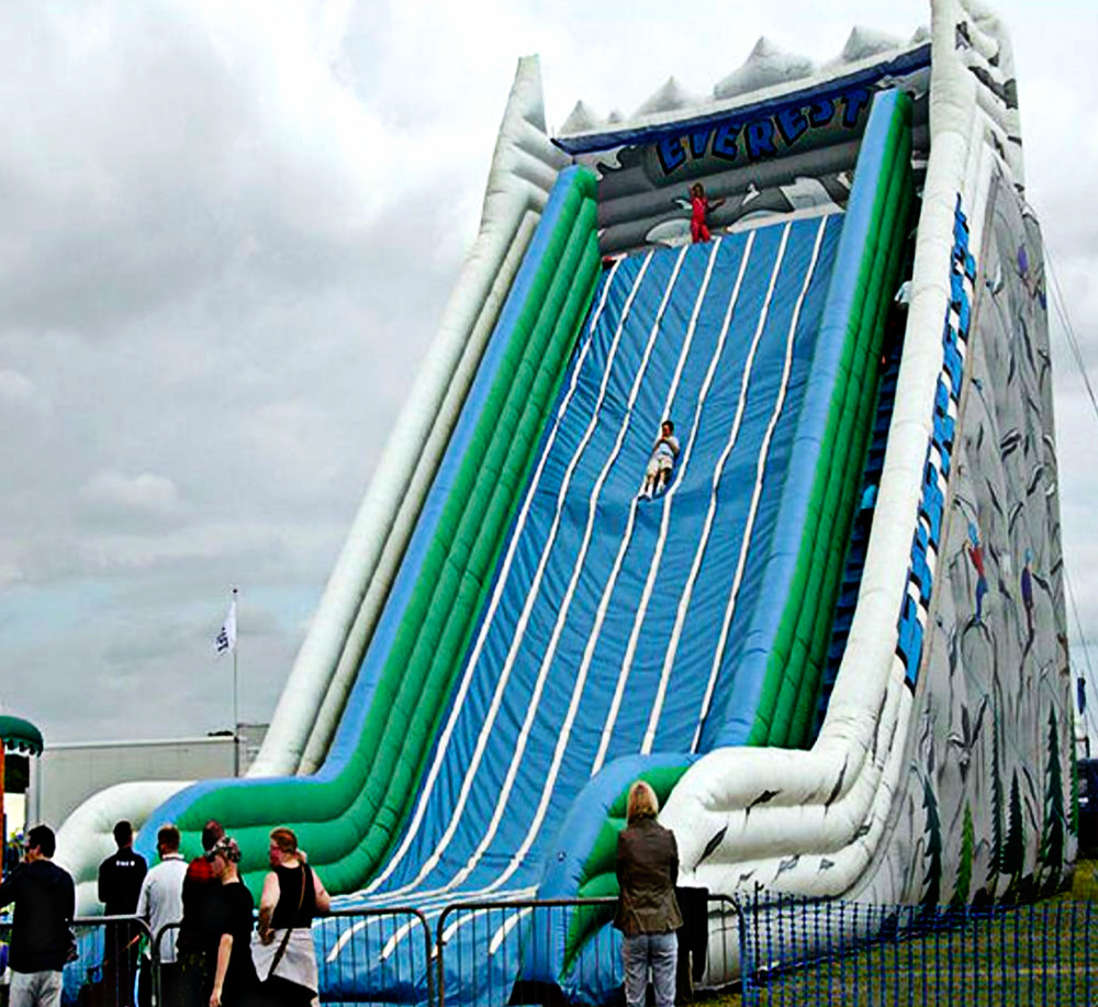 Inflatable Water Slide Mandurah: 40' Inflatable Slide Combo Wet Dry Bounce House Commercial