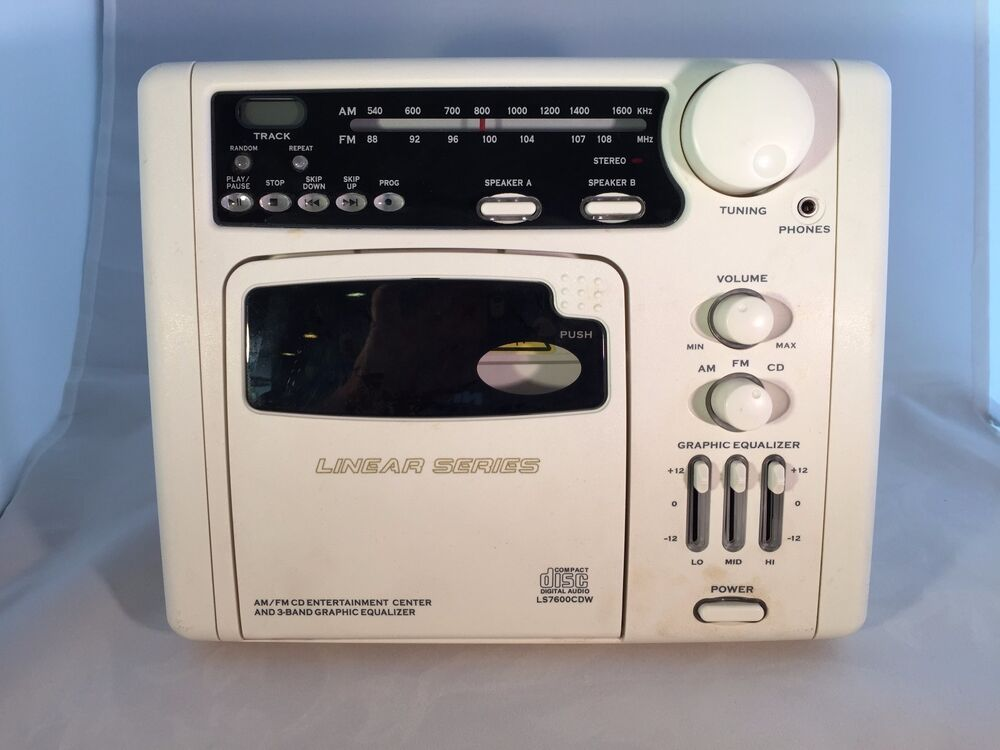 Ls7600 Rv Cd Player Am Fm Radio Magnadyne White In Wall Rv