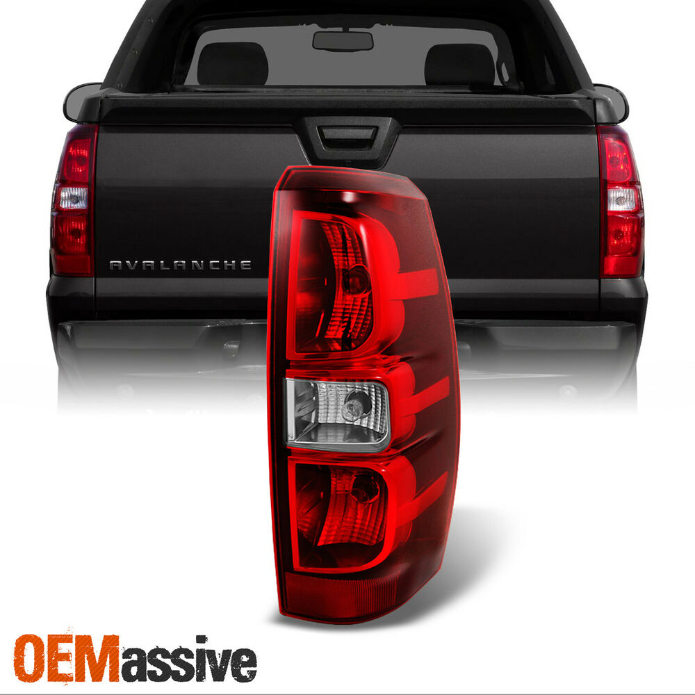 2007 2013 chevy avalanche passenger right side tail light. Black Bedroom Furniture Sets. Home Design Ideas