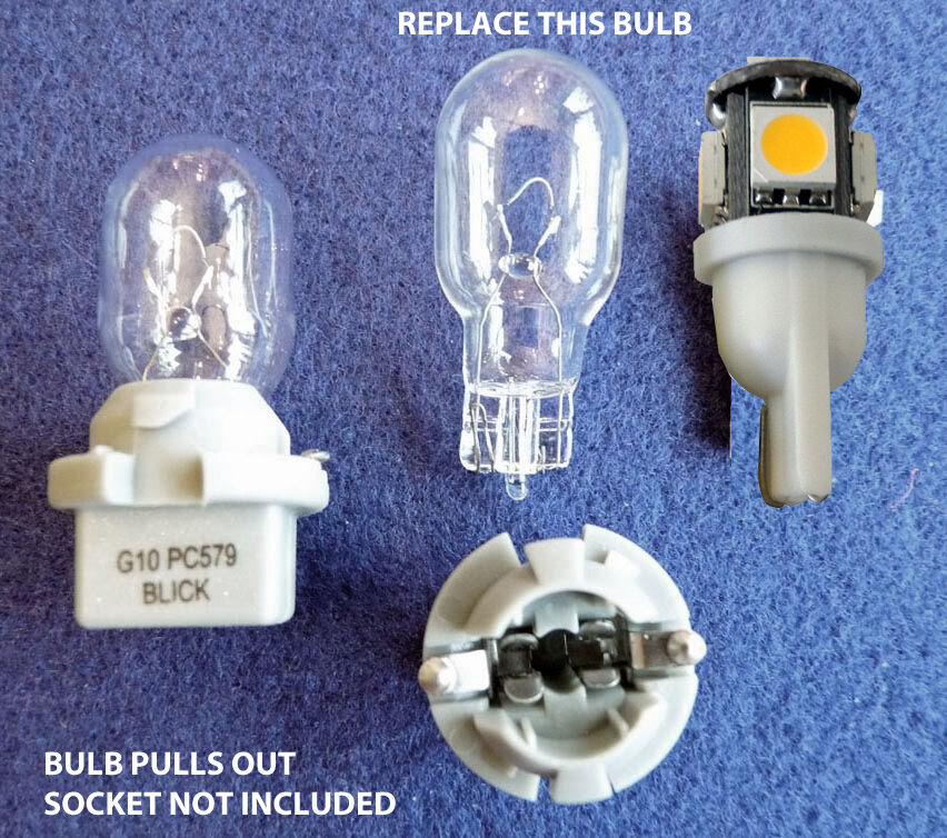 Pc579 Led Bulb Replacement 2 Led Bulb With 360 Coverage