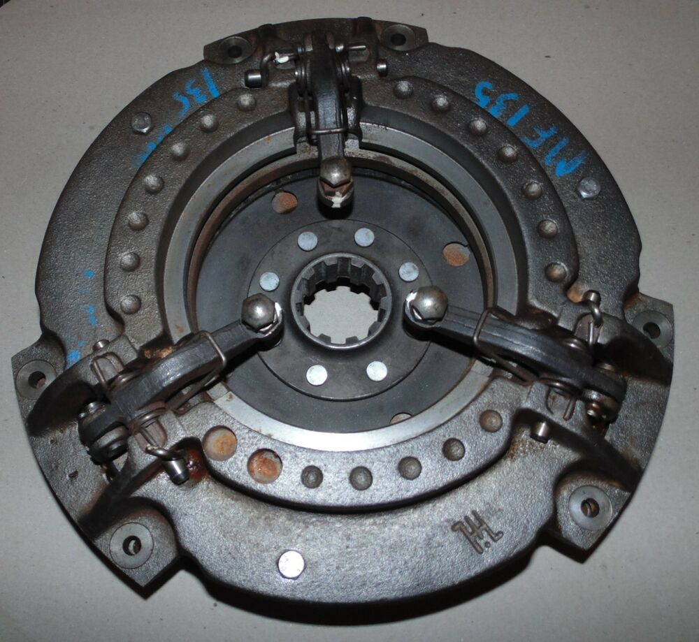 Tractor Dual Clutch : M new massey ferguson tractor double clutch plate